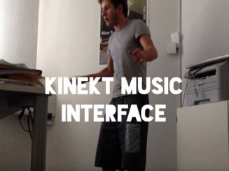 Dub and Kinect Music Interface